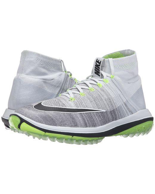 Nike | Gray Flyknit Elite for Men | Lyst