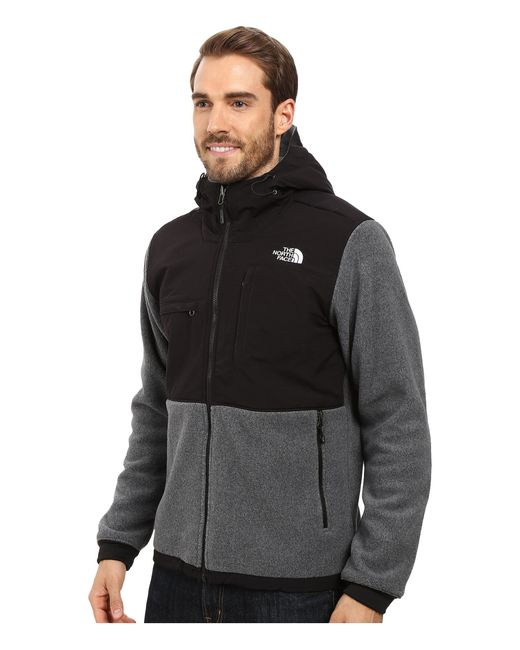 abf22d4c06f0 ... discount the north face gray denali 2 hoodie for men lyst the north face  womens apex