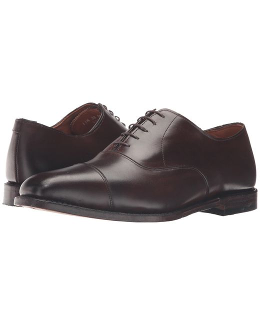 Allen Edmonds | Brown Exchange Place for Men | Lyst