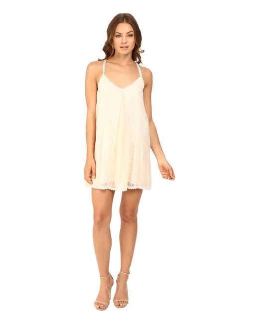 Brigitte Bailey | Natural Violetta Boho Cami Dress | Lyst