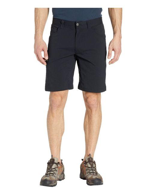 Columbia Black Silver Ridgetm Ii Stretch Shorts for men
