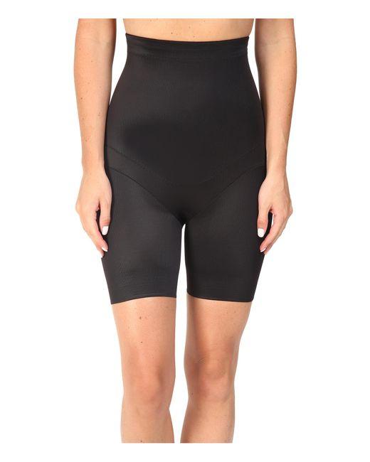 Miraclesuit   Black Flex Fit Hi-waist Thigh Slimmer   Lyst