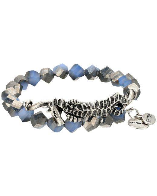 ALEX AND ANI   Metallic Seahorse Wrap Bracelet   Lyst