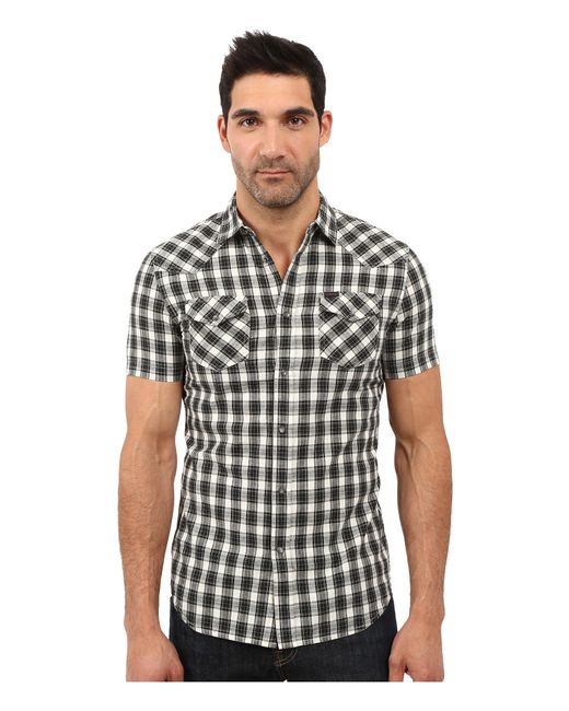 DIESEL   White S-zule-short Shirt for Men   Lyst
