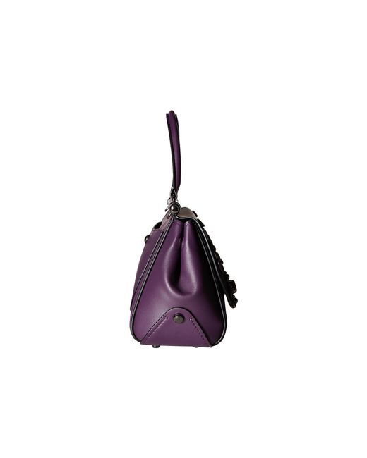 Coach Willow Floral Drifter Top Handle In Purple Lyst