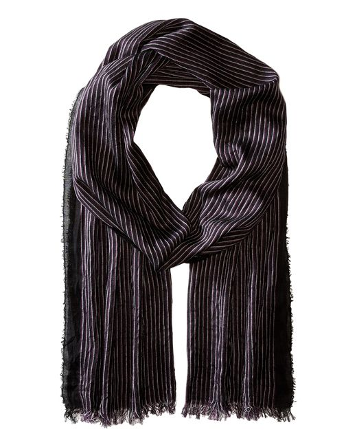 John Varvatos | Black Fine Stripe for Men | Lyst