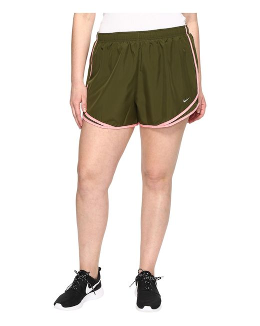 "Nike | Green Dry Tempo 3"" Running Short (size 1x-3x) 