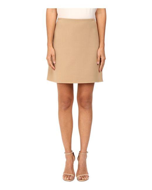 Theory | Natural Irenah Saxton Skirt | Lyst