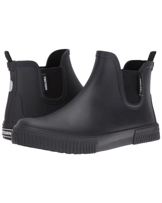 Tretorn | Black Strala Chelsea Weather Boot for Men | Lyst