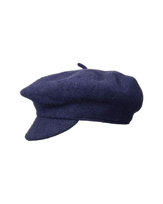 Lyst - Brixton Audrey Brim Beret (washed Navy) Berets in Blue 9eae51e08a2e