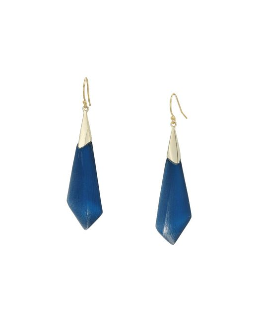 Alexis Bittar - Multicolor Faceted Wire Earrings (warm Grey Clear) Earring - Lyst
