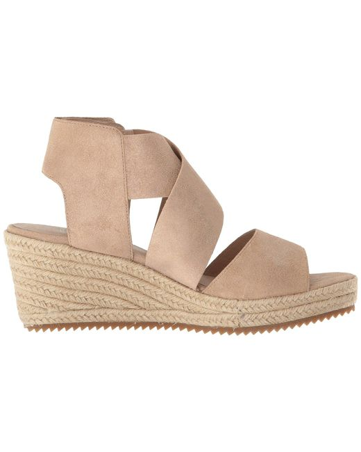 99e7ed59860 ... Lyst Eileen Fisher - Multicolor Willow 3 (pewter Metallic Suede) Women s  Wedge Shoes ...