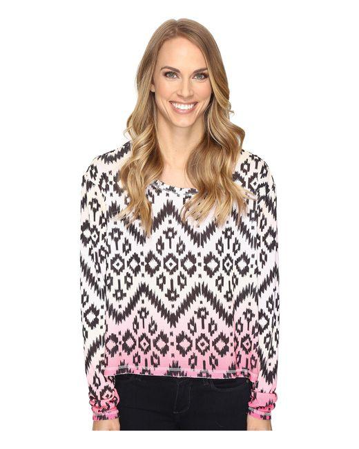 Roper | White 0612 Sweater Jersey Crop Shirt | Lyst