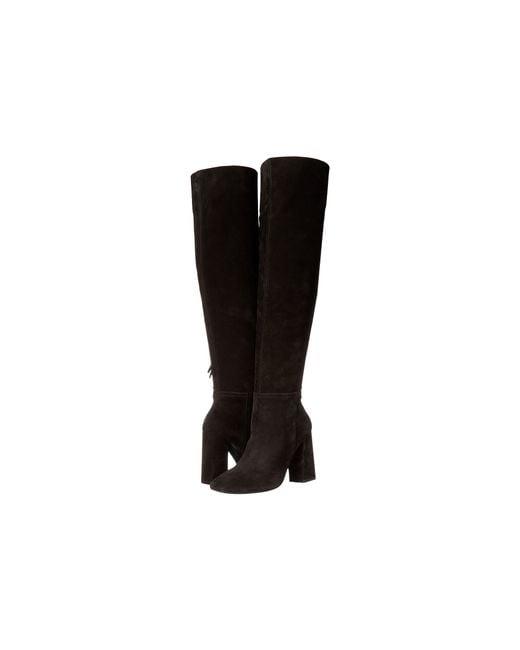 Free People | Black Carlisle Tall Boots | Lyst