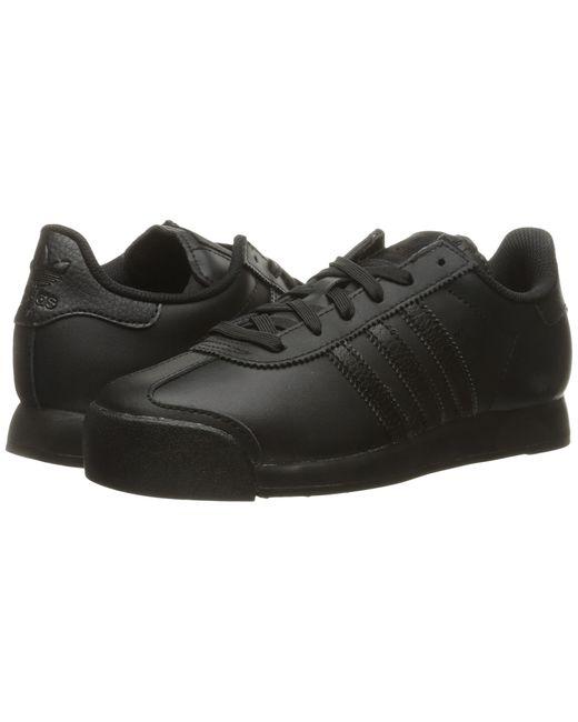 Adidas Originals   Black Samoa Leather for Men   Lyst