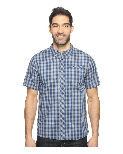 Smartwool | Blue Summit County Gingham for Men | Lyst