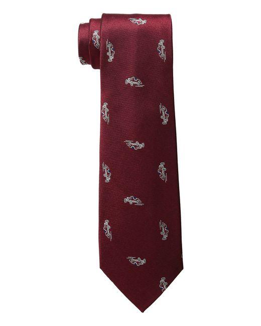 Lauren by Ralph Lauren | Red Car Club Tie for Men | Lyst