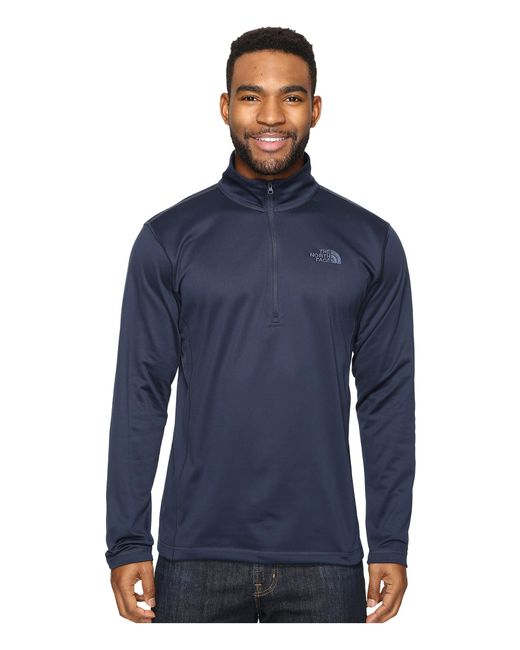 The North Face | Blue Tech Glacier 1/4 Zip for Men | Lyst