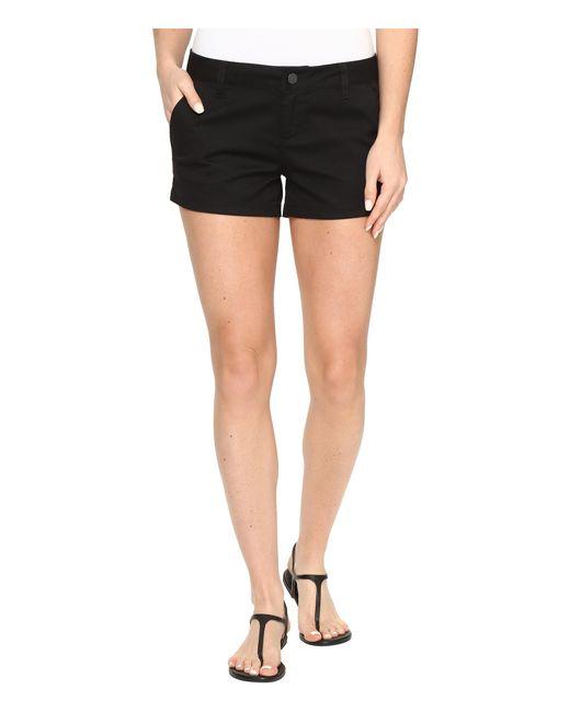 "Volcom | Black Frochickie 2"" Shorts | Lyst"