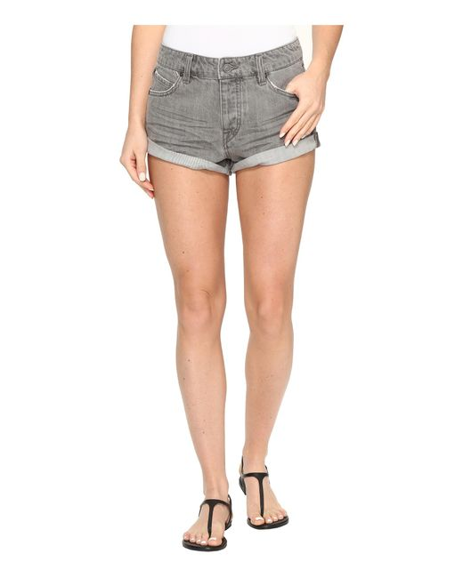 Volcom | Gray Stoned Shorts Rolled | Lyst