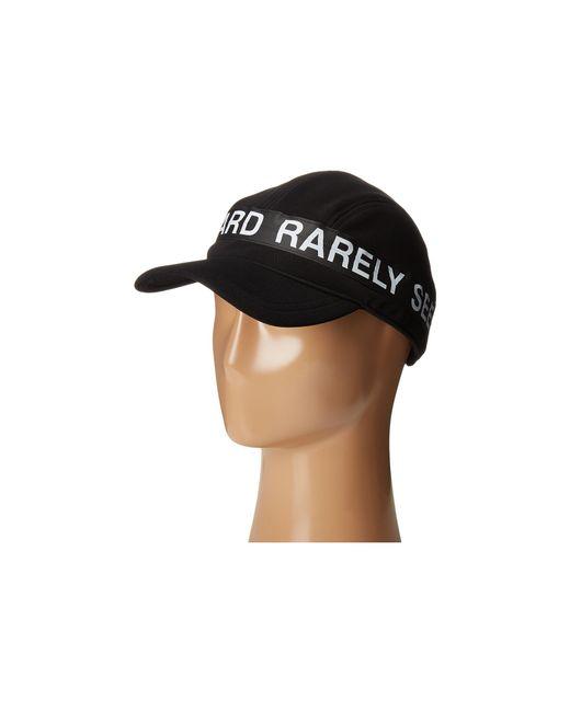 Mostly Heard Rarely Seen | Black Zipper Convertible Visor Hat for Men | Lyst