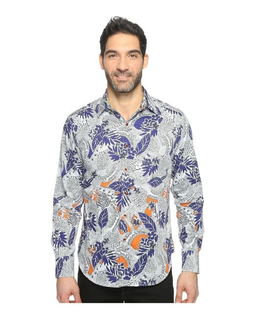 Robert Graham | Blue Minicoy Island Shirt for Men | Lyst
