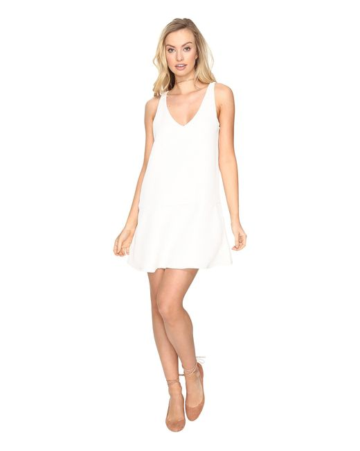 BB Dakota | White Jarvis Textured Shift Dress | Lyst