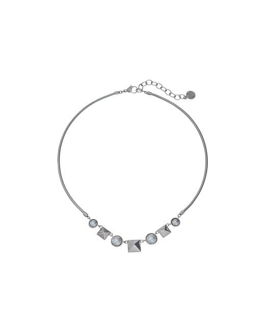 Majorica | White Why Not? Silver Necklace | Lyst