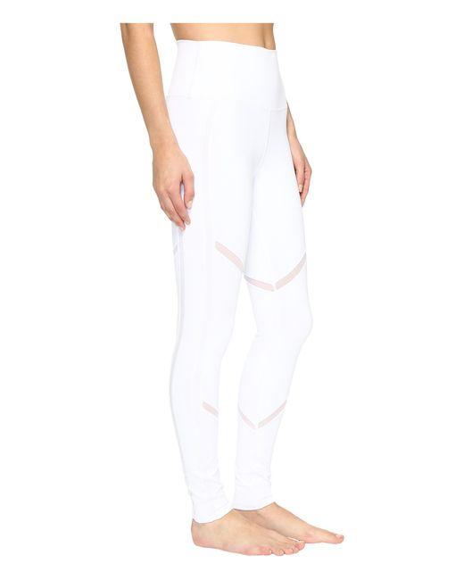 Alo yoga Continuity Leggings in White