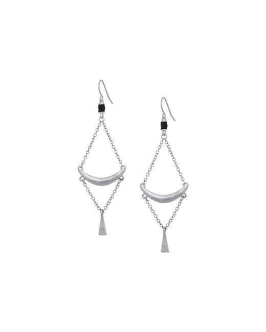 The Sak | Metallic Crescent Trapeze Earrings | Lyst