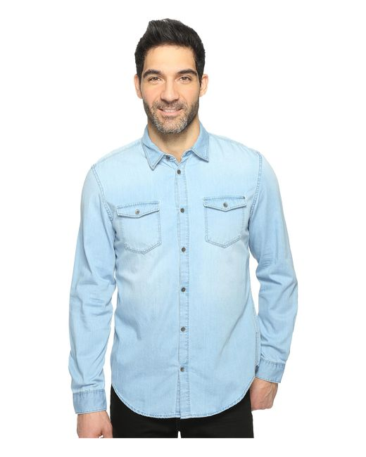 Calvin Klein Jeans | Blue Denim Shirt for Men | Lyst