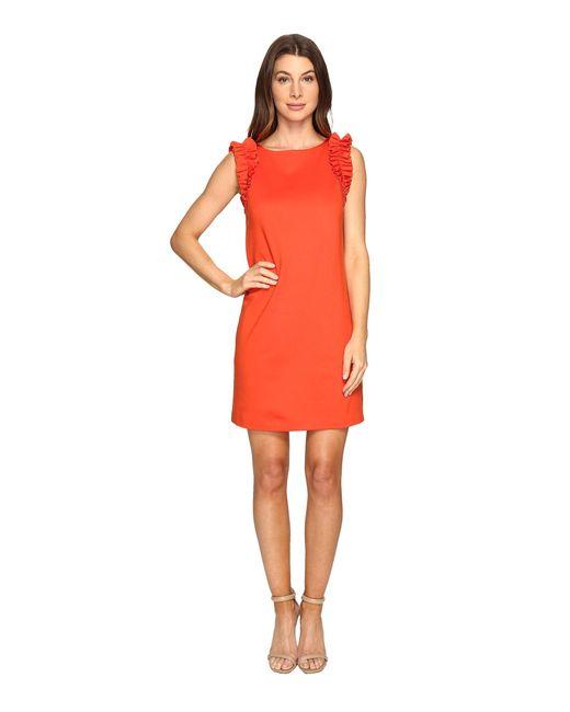Trina Turk | Red Sirena Dress | Lyst