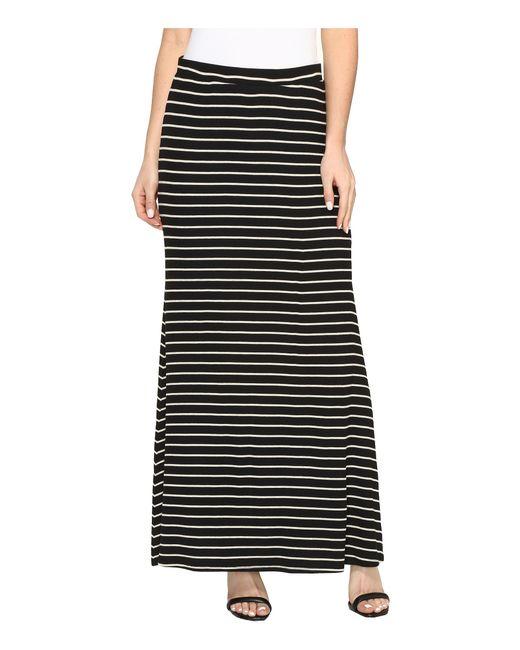 Karen Kane | Black Side Slit Maxi Skirt | Lyst