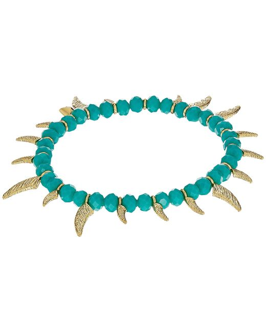 Rebecca Minkoff | Multicolor Tiki Beaded Spike Bracelet | Lyst