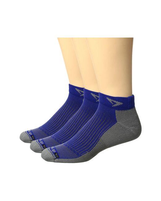 Drymax Sport | Blue Running Mini Crew 3-pack for Men | Lyst