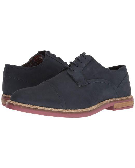 Ben Sherman - Blue Birk Cap Toe (oceania) Men's Shoes for Men - Lyst