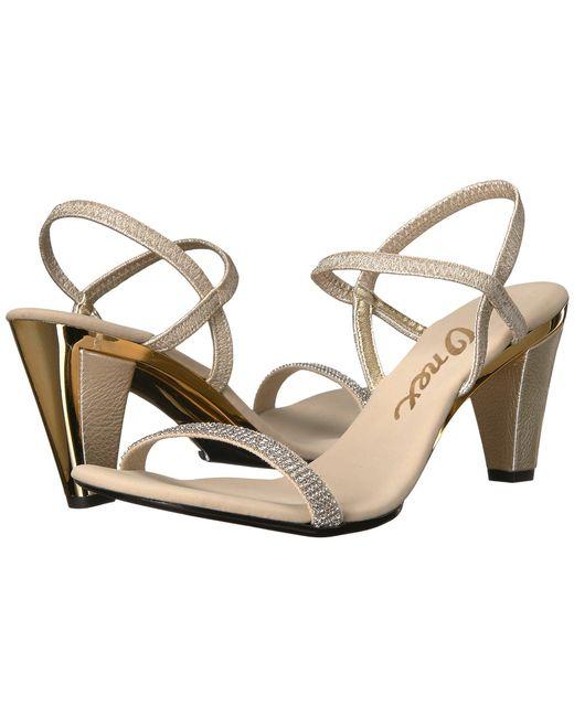 Onex - Multicolor Iced (black/silver) Women's Dress Sandals - Lyst