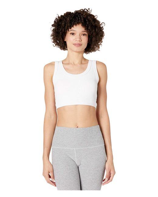 Alo Yoga White Wellness Bra Bra