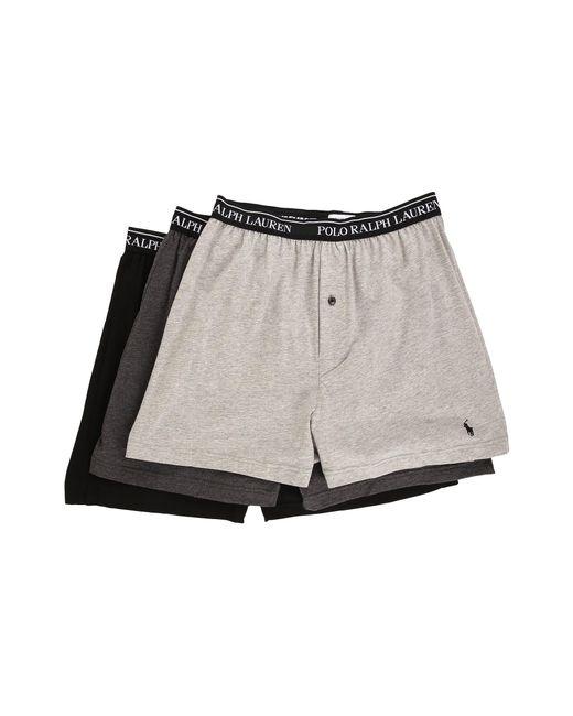 Polo Ralph Lauren | Black 3-pack Knit Boxer for Men | Lyst
