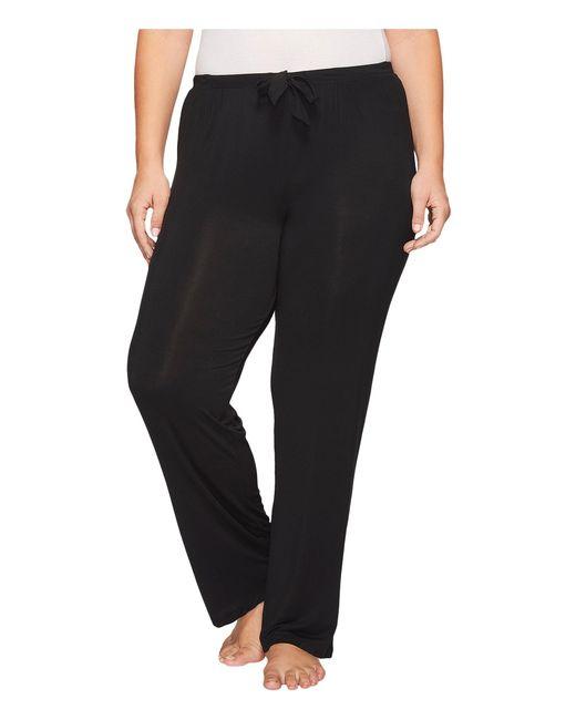 DKNY   Black Plus Size Long Pants   Lyst