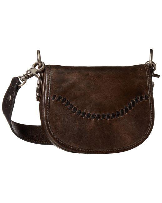 Frye | Brown Melissa Whipstitch Mini Saddle | Lyst