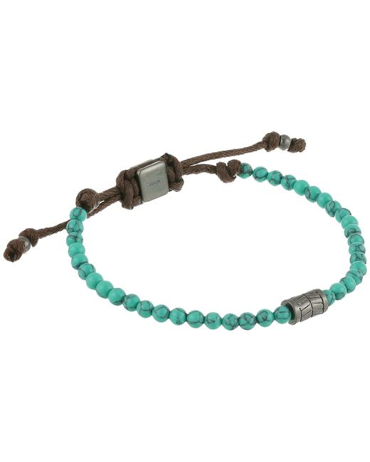 Fossil | Gray Vintage Casual Beaded Bracelet | Lyst