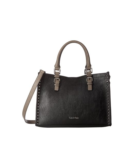 Calvin Klein | Black Unlined Novelty Casual Tote | Lyst