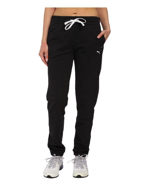 PUMA | Black Sweat Pant | Lyst