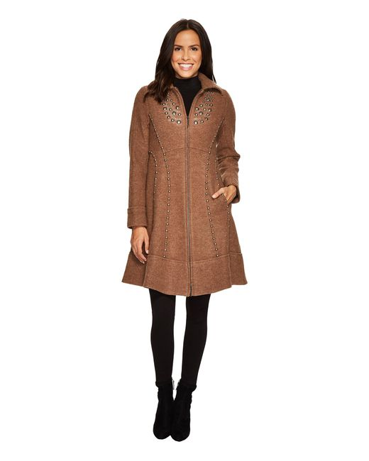 Nanette Lepore | Brown Grace Coat | Lyst