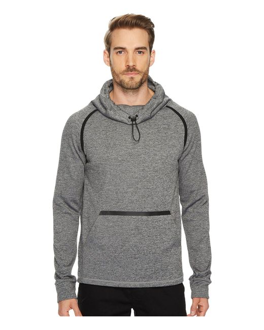 Blanc and Noir | Gray Deflection Funnel Neck Pullover for Men | Lyst