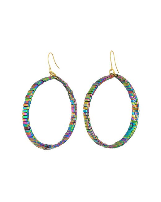 Vanessa Mooney | Multicolor The Skylar Hoops Earrings | Lyst