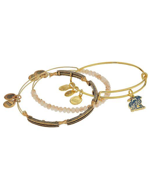 ALEX AND ANI   Metallic Rabbit Bracelet Set Of 3   Lyst