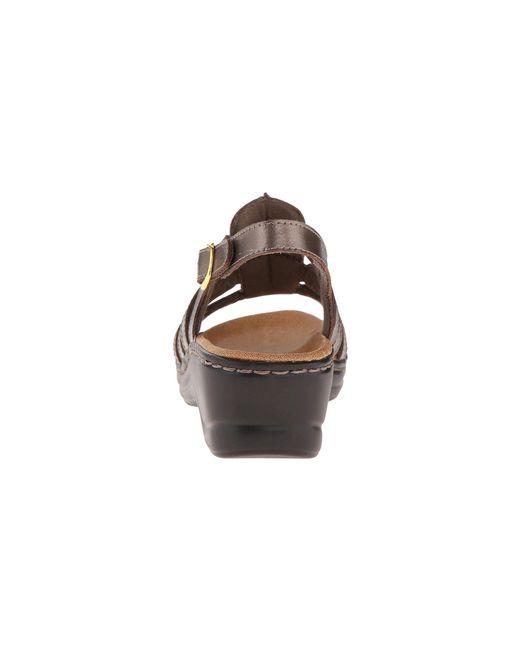 624bafe68a015e ... Lyst Clarks - Metallic Lexi Marigold Q (white Leather) Women s Sandals  ...