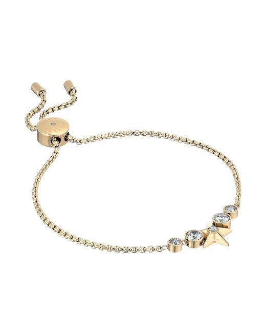 Michael Kors | Metallic Brilliance Slider Bracelet W/ Centered Star | Lyst